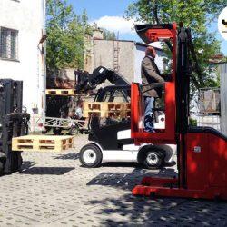 kurs wózki wysokiego składowania