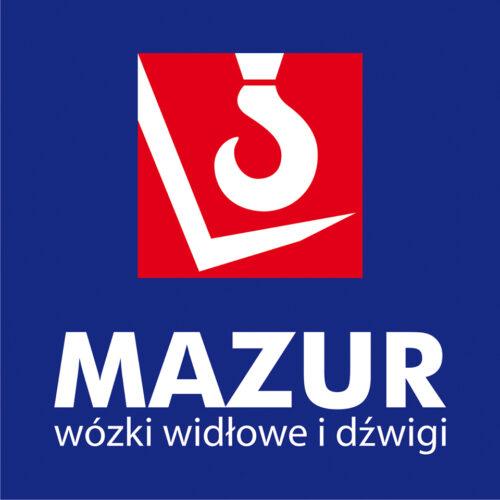 Logo MAZUR wózki widłowe i dźwigi, wózek widłowy, usługi, wynajem, sprzedaż, serwis. Transport i relokacje maszyn i urządzeń, przeprowadzki i przenoszenie firm i zakładów